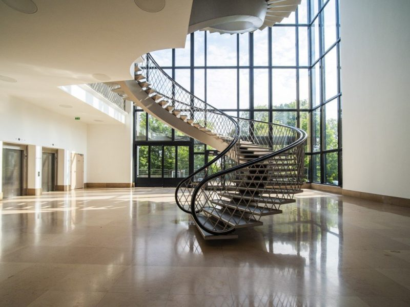 iXcampus escaliers bureaux